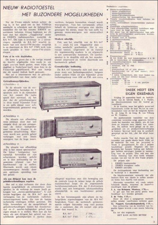 VDH-tje N°811-3 van 18 oktober 1963