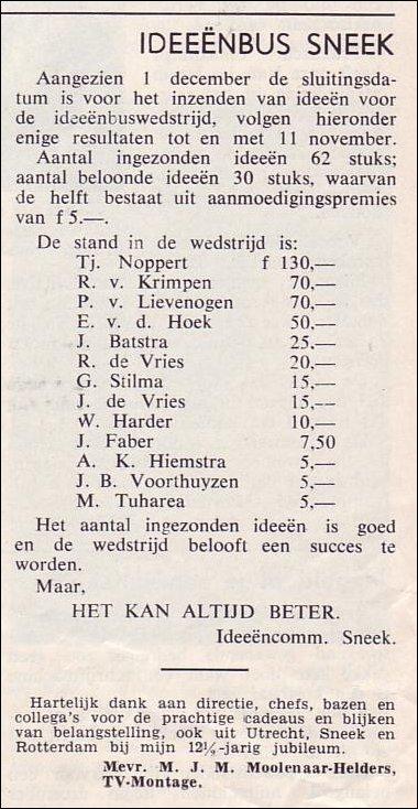 VDH-tje N°816-4 van 22 november 1963