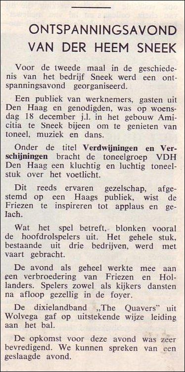 VDH-tje N°822-1 van 10 januari 1964