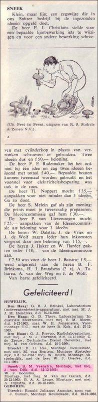 VDH-tje N°822-4 van 10 januari 1964