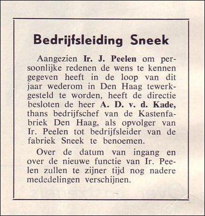 VDH-tje N°826-1 van 7 februari 1964