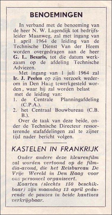 VDH-tje N°835-2 van 10-04-1964
