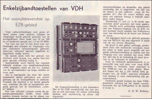 VDH-tje N°849-1 van 14 augustus 1964