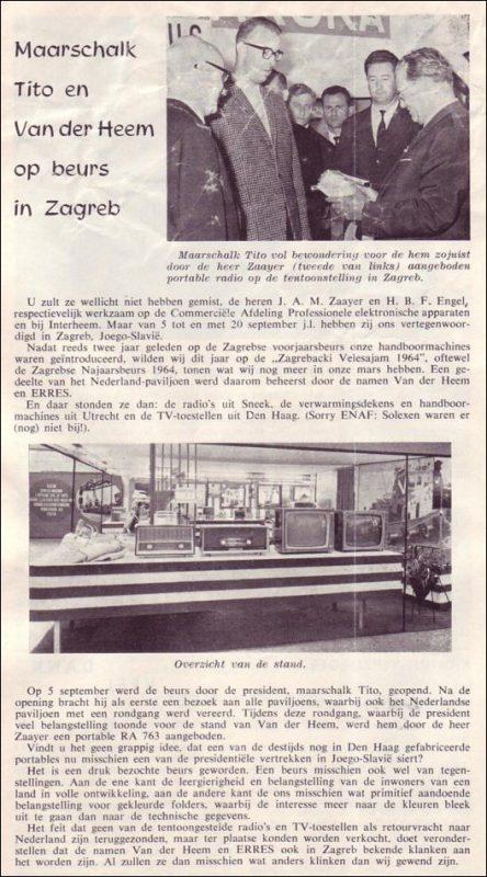 VDH-tje N°858-4 van 16 oktober 1964