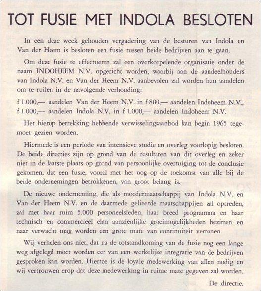 VDH-tje N°860-1 van 30 oktober 1964