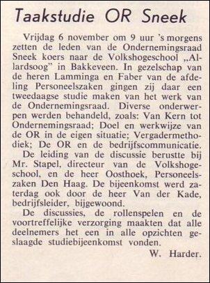 VDH-tje N°863-1 van 20 novemberi 1964
