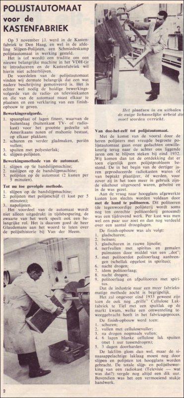 VDH-tje N°864-2 van 27 november 1964