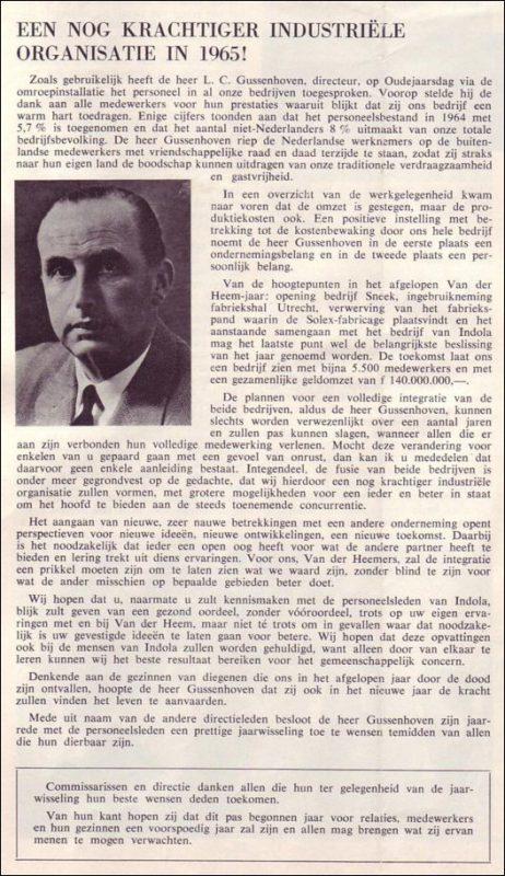 VDH-tje N°869-1 van 8 januari 1965