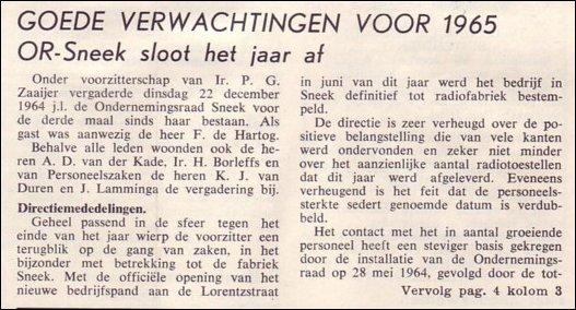 VDH-tje N°869-3 van 8 januari 1965