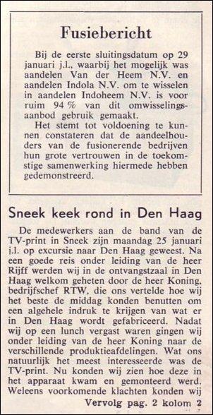 VDH-tje N°873-1 van 5 februari 1965