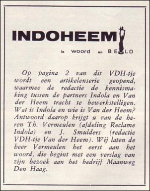 VDH-tje N°875-1 van 19 februari 1965