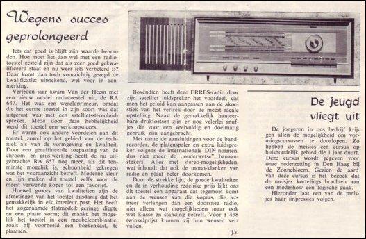 VDH-tje N°879-1 van 19 maart 1965