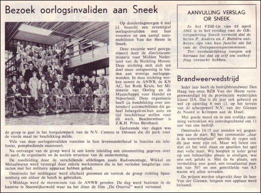VDH-tje N°887-2 van 21 mei 1965