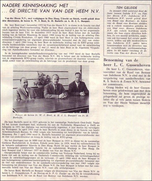 VDH-tje N°891-1 van 18 juni 1965