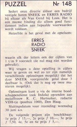 VDH-tje N°891-4 van 18 juni 1965