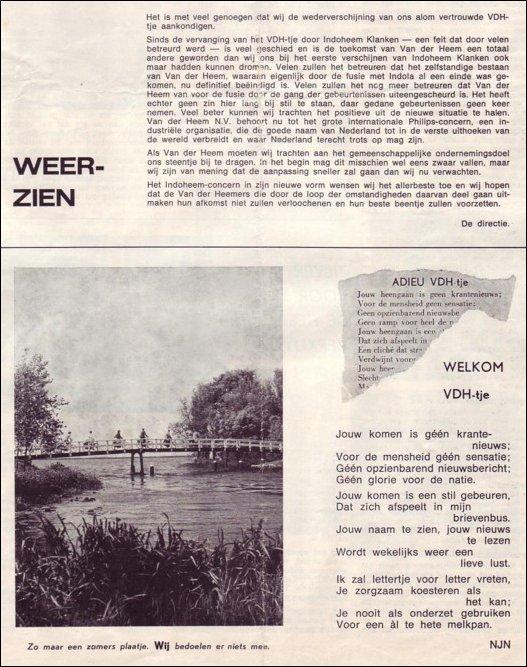 VDH-tje N°895-1 van 24 juni 1966