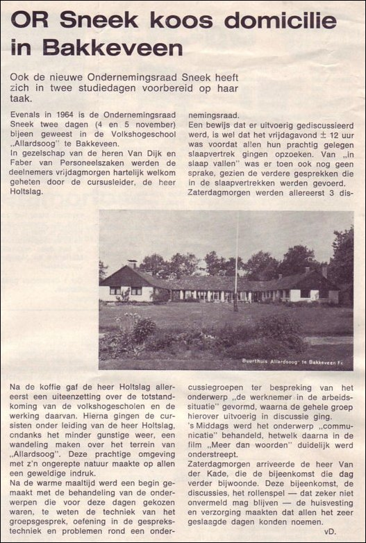VDH-tje N°912-3 van 18 november 1966