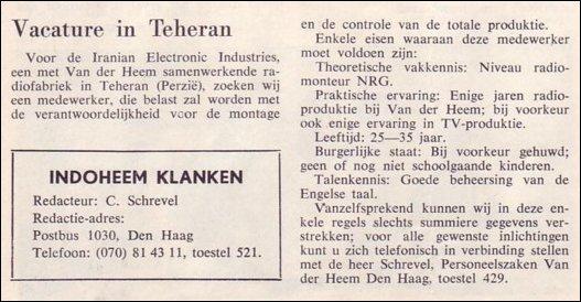 IndoHeem Klanken IK05-2 van 3 september 1965
