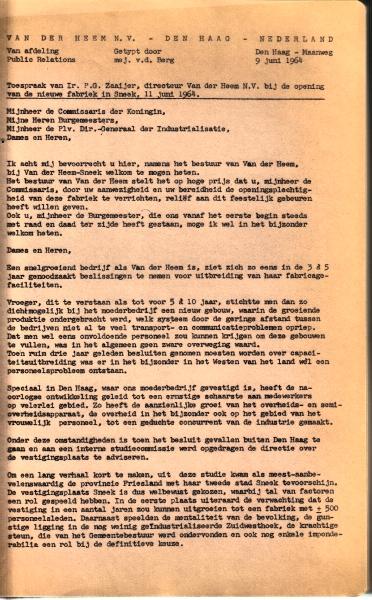 VanderHeem_Opening_Sneek_10A_1964